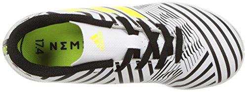 Pictures of adidas Boys' Nemeziz 17.4 in J S82464 White/Solar Yellow/Black 2