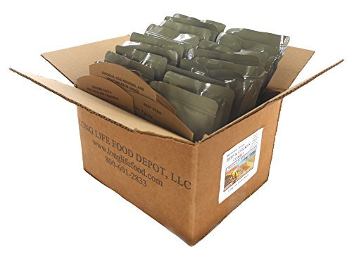 Mre Entrees (MRE Beef & Chicken Entrees Combo - 18 pack)