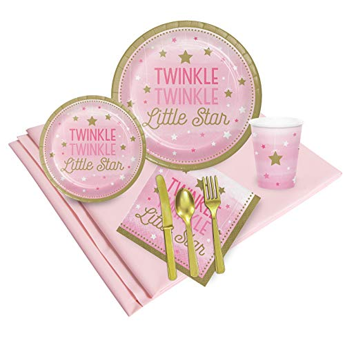 Twinkle Twinkle Little Star Pink Party Pack 24]()