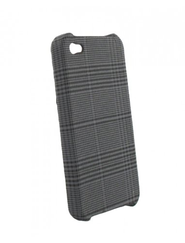 Energy EN10505 Coque recouverte de tissu enduit pour iPhone 4 Prince de Galles