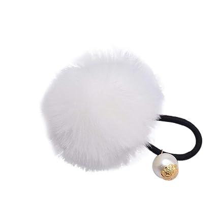 Corbata de goma para coleta de perlas de pelo sintético, para ...