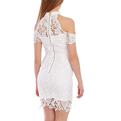La Modeuse - Vestido - para mujer blanco