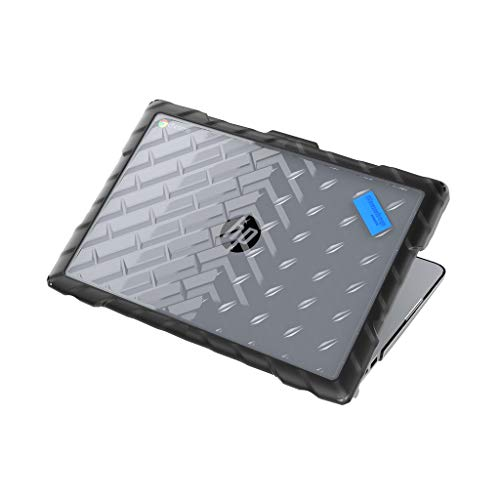 Gumdrop DropTech Case Designed for HP 14 G5 Chromebook Laptop for K-12 Students, Teachers, Kids - Black, Rugged, Shock Absorbing, Extreme Drop Protection ()