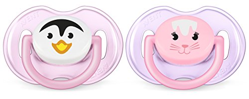 philips-avent-soother-animal-2-piece-pink-purple-0-6-months