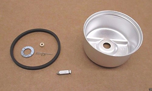 Genuine Tecumseh 631867 Carburetor Float Bowl & 631021B Needle & Seat Kit OEM Oem Carburetor Float