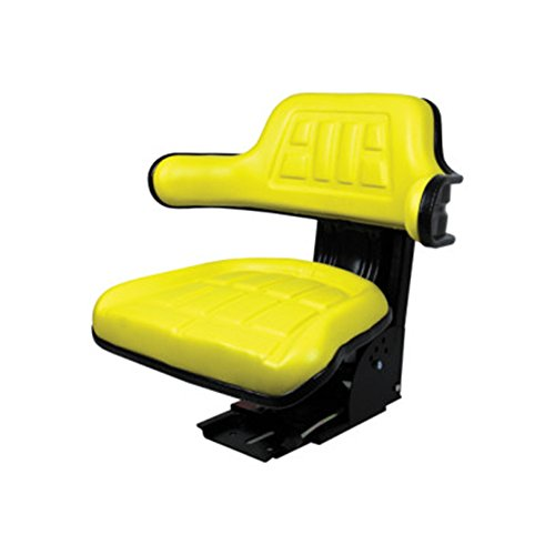 Yellow Tractor Seat For John Deere 820 830 1020 1530 2020 2030 2040 2150 2155 by RAPartsinc