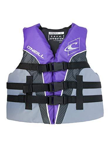 O'Neill Superlite Youth USCG Life Vest Ultraviolet/Graphite/Smoke (4725)