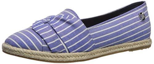 Nautica Women's Idelle Shoe, Blue Stripe, 8.5 Medium US (Nautica Padding)