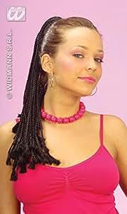 Extensiones de cabello afro, negro