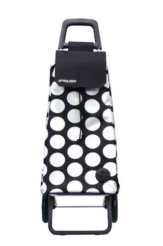 Shopping Trolley (Black/White) - 2