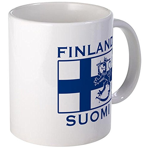 CafePress Finland Suomi Flag Mug Unique Coffee Mug, Coffee ()