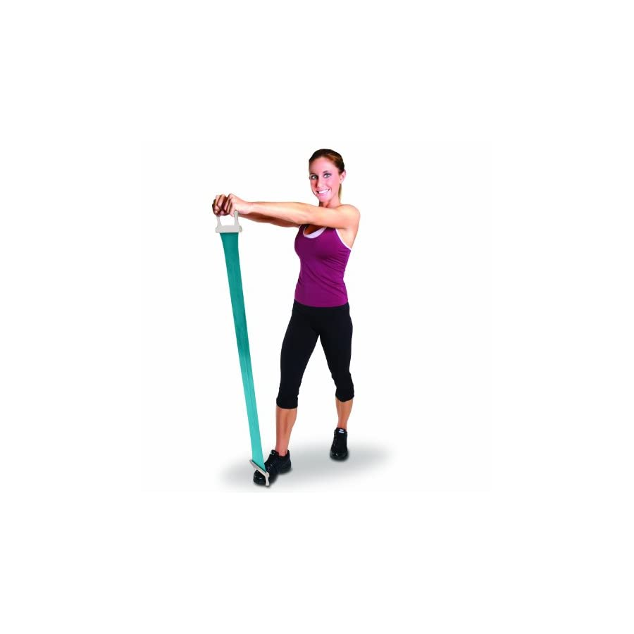 Tone Fitness Pilates Flex Band with Handle