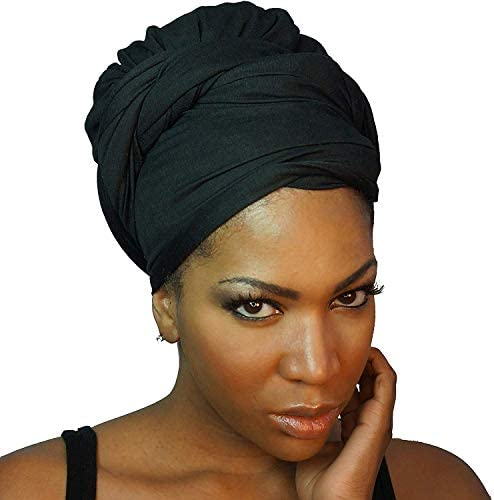 18 colori The Urban Turbanista Headwraps /& Turbans Elasticizzato Jersey Knit Testa Wraps