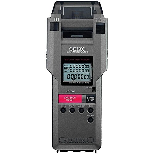 Seiko Timers 300 Lap Memory Stopwatch w Printer System