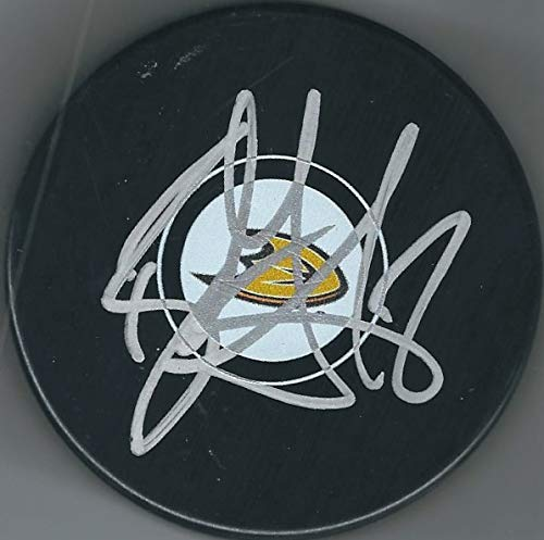 Autographed Ryan Getzlaf Anaheim Ducks Hockey Puck