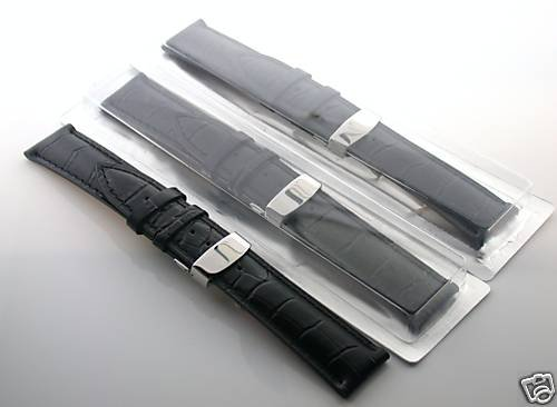 3-18mm Leather Watch Band Deployment Strap for Breitling ...