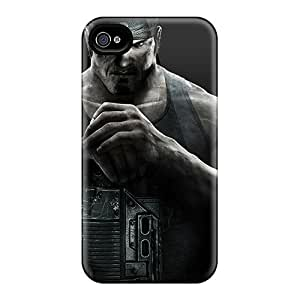 Iphone 4/4s KsT14582DiDs Provide Private Custom Realistic Gears Of War 3 Image Shock-Absorbing Hard Phone Case -TimeaJoyce