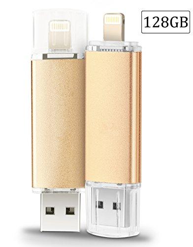 128GB iPhone USB Flash Drive, Pen-Drive Memory Storage, Jump