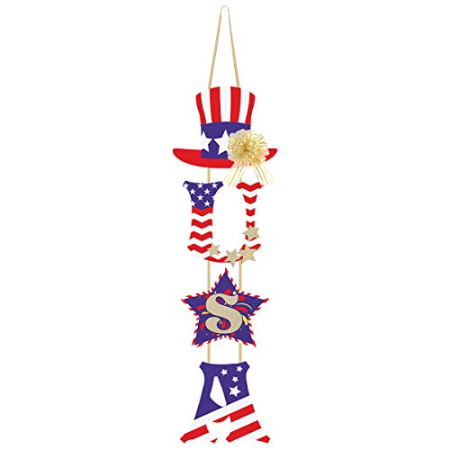 4th of July Door Hanging Decoration