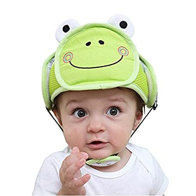 Leiyini Baby Safety Helmet Adjustable Protective Bumper Cap Safety Head Protector