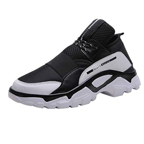 Men Outdoor Mesh Sneakers,Dacawin Fashion Casual Lace-up Breathable Non-Slip Wear-Resistant Sports Runing Shoes 2019