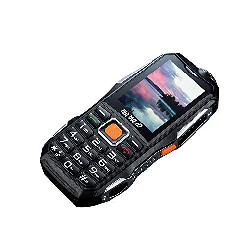 JinJin NEW GSM Cell Phone Blue 12000mAh 2.4 inch 8.0MP Dual SIM For Elderly People Outdoor Flashlight Camera 8W Back-up Phone Talk Time Talk time Up to 58 hours Standby Time Standby time 420 (Black)