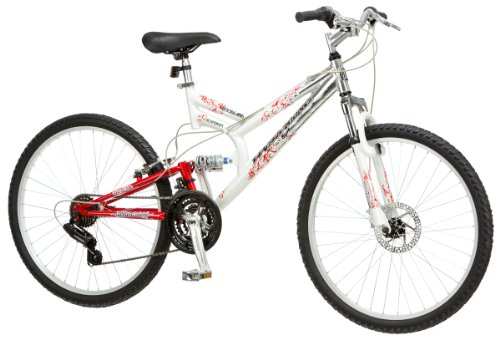 Amazon Com Mongoose Women S Woodland Bicycle White Mountain