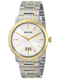 Bulova Men's Mens Dress, 98B214 Two Tone Watch