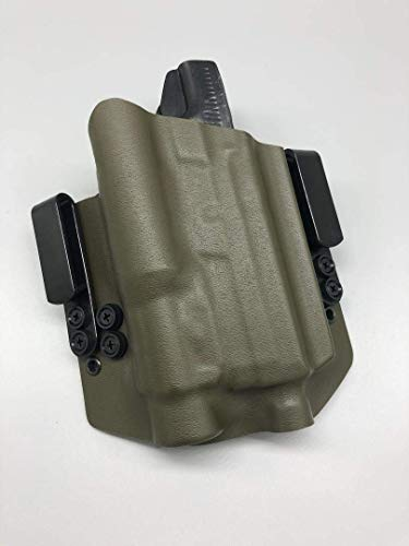 Neptune Concealment Kydex Gun Holster for FN FNX 45 Full Size - Light / Laser bearing Nestor Series - Veteran Made USA