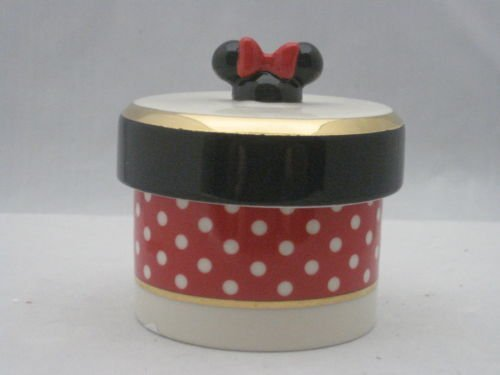Lenox 853394 Minnie Mouse Trinket Box ()