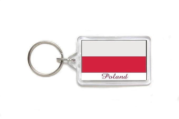 Amazon.com: Souvenir Bandera de Polonia Polaco acrílico ...