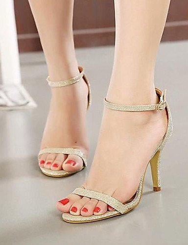 Synthetic Shoes Dress More Sandals Heel ShangYi Stiletto available golden Women's Toe Colors Open Epwgaq65x