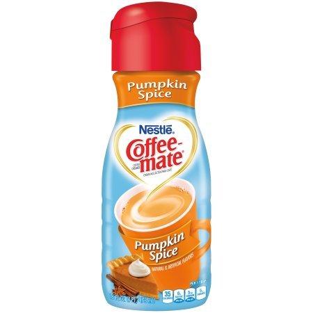 COFFEE-MATE, Pumpkin Spice, Liquid Coffee Creamer, 32 oz (Pack of 2) (Coffee Mate Pumpkin Spice compare prices)