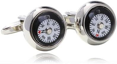 Compass Cufflinks Shirt Cuff Links