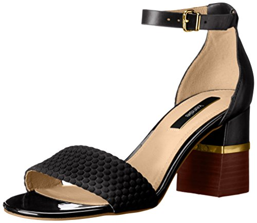 kensie Estan Sandal Black Women's Dress qaRqwPg