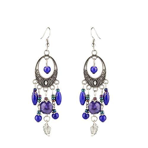 Beaded Tassel Dangle Drop Bohemian Fringed Chandelier Earring Lady Jewerly Necklace Jewelry Crafting Key Chain Bracelet Pendants Accessories Best  Color - ()