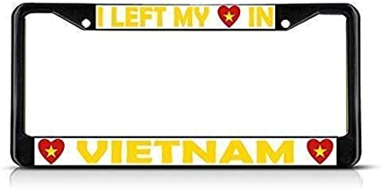 Invinciblefrme Customized License Plate Frame Tag Holder for Auto Car for Us Standard 12/×6 in