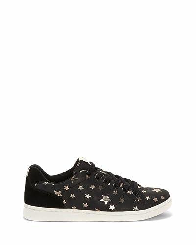 97cebba5da60 Amazon.com | ED Ellen DeGeneres Women's Chapastar Black/Gold Stars  Millierge Star/Millierge Star 5.5 M US | Shoes