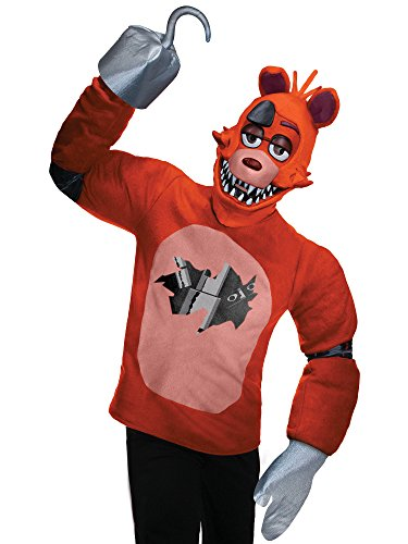 Rubie's Men's Five Nights at Freddy's Foxy Costume, Multi, Standard -