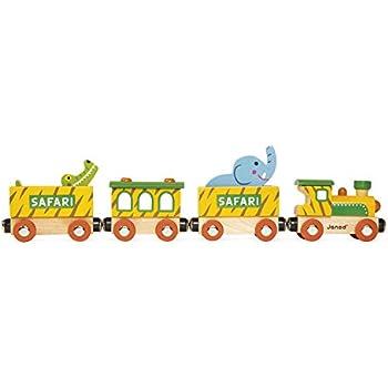 Amazon.com: Janod Story – Tren de granja: Toys & Games