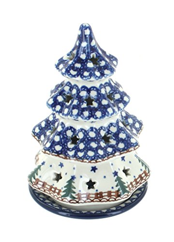 Polish Pottery Rustic Pines Small Tree -