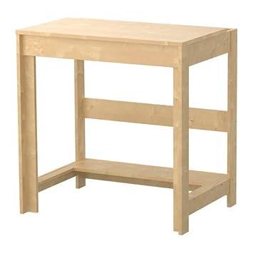 Ikea Laiva Schreibtisch Birkenachbildung Amazonde Küche Haushalt
