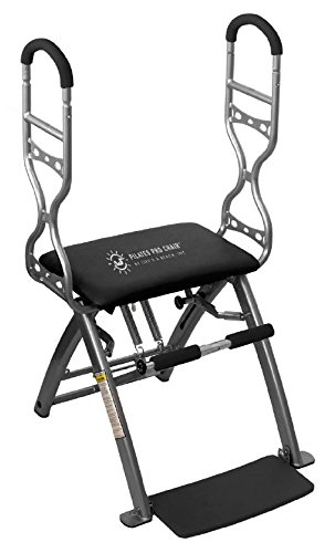 Pilates PRO Chair Max with Sculpting Handles by Life's A Beach (Black)