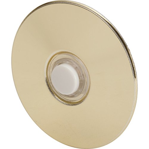 (Newhouse Hardware Round Door Bell Chime Button, Size: 2-1/2