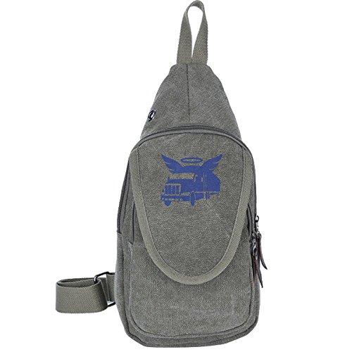 Truck Fly Canvas Sling Bag Sport Outdoor Bike Chest Shoulder Pack Unbalance Crossbody Bag Travel Daypack For - Me Sunglasses Sale Near On
