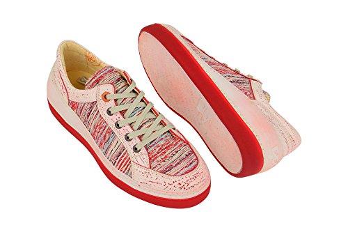 001 Rouge 18341 Chaussures Eject Classique À Coupe Femme Lacets Et Bq5RUzw