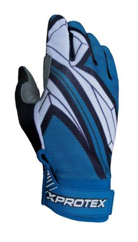 Xprotex Youth MASHR 2014バッティング手袋、ロイヤル、Large B00GV3ZQSG
