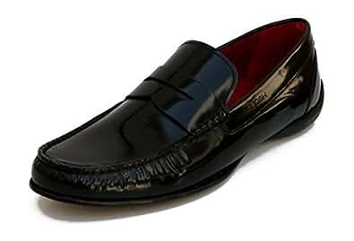 Ruosh Black Formal Shoes For Men, 41 EU