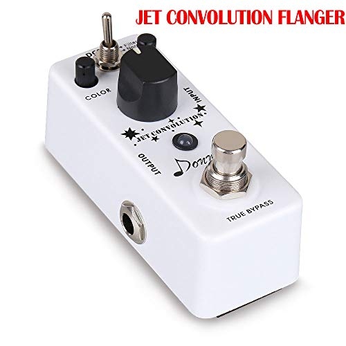 Mini Guitar Effect Pedals Distortion Overdrive Chorus Fuzz Flanger Delay Giant Metal Effects Pedal Guitar Accessories New,JetConvolutionflan
