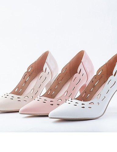 tacones 5 Stiletto oficina Pink Cn36 semicuero Eu36 Vestido Cn43 us10 Puntiagudos Uk4 De White tacones Mujer Y Almendra Uk8 rosa tac¨®n Eu42 Zq Blanco Zapatos Trabajo us6 5 X8UIqq